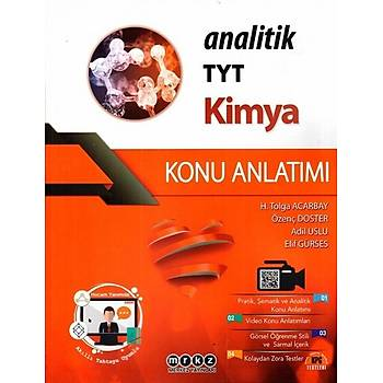 TYT Analitik Kimya Konu Anlatýmý Merkez Yayýnlarý