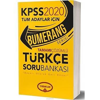 Yediiklim 2020 KPSS Bumerang Türkçe Çözümlü Soru Bankasý