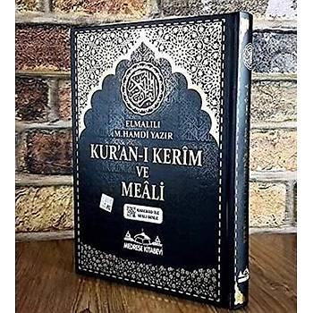 Kuraný Kerim ve Meali Bilgisayar Hatlý Rahle Boy - Elmalýlý Muhammed Hamdi Yazýr - Medrese Kitabevi