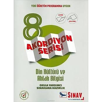 Sýnav 8.Sýnýf Din Kültürü ve Ahlak Bilgisi Akordiyon Kitap