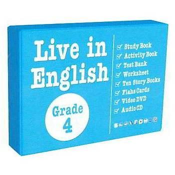 Grade 4 Kutu Set (Kampanyalý) Live in English