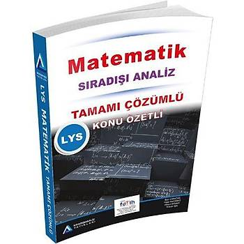 SýradýþýAnaliz LYS Matematik Tamamý Çözümlü Soru Bankasý 2017