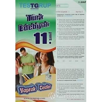 11. Sýnýf Türk Edebiyatý Yaprak Testler