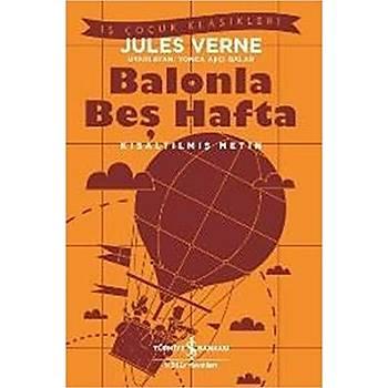 Balonla Beþ Hafta - Jules Verne - Ýþ Bankasý Kültür Yayýnlarý