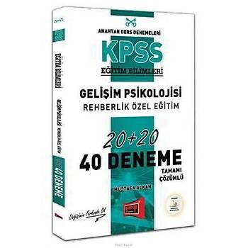 Yargý KPSS Geliþim Psikolojisi, Rehberlik Özel Eðitim Çözümlü 40 Deneme
