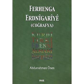 Ferhenga Erdnigariye (Coðrafya) - Abdurrahman Önen