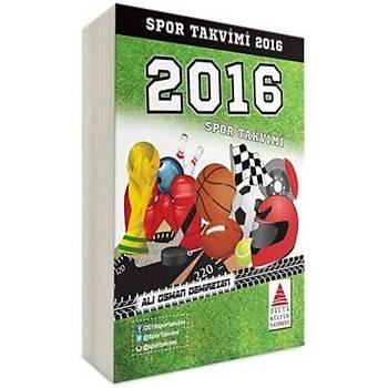 Spor Takvimi 2016 -Ali Osman Demirezen -Delta Kültür Yayýnevi