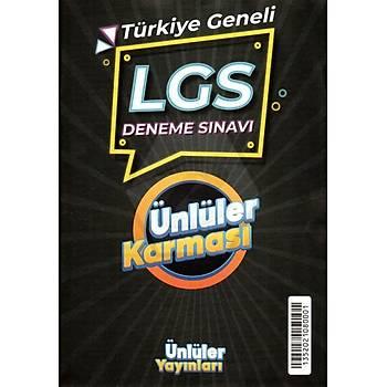 8.Sýnýf LGS Ünlüler Karmasý Türkiye Geneli Deneme Sýnavý