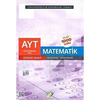 FDD AYT Matematik 25x40 Deneme Sýnavý