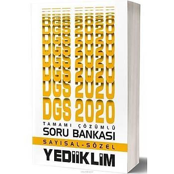 Yediiklim 2020 DGS Sayýsal Sözel Çözümlü Soru Bankasý