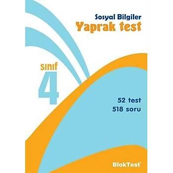 4. Sýnýf Sosyal Bilgiler Yaprak Test - Bloktest Yayýnlarý