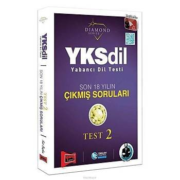 Yargý YKSDÝL Yabancý Dil Testi Son 18 Yýlýn Çýkmýþ Sorularý Test 2