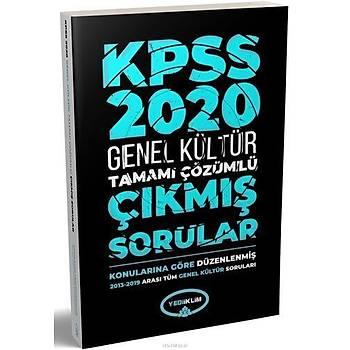 Yediiklim 2020 KPSS Genel Kültür Çýkmýþ Sorular