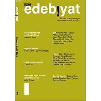 Edebiyat; Sayý: 18 - Kolektif -Özgür Yayýnlarý