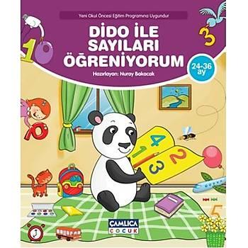 Dido ile Sayýlarý Öðreniyorum - Nuray Bakacak - Çamlýca Çocuk Yayýnlarý