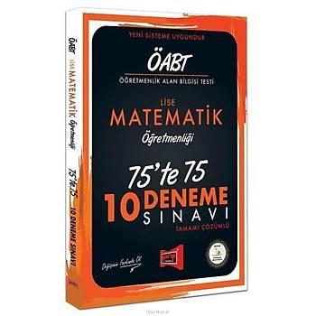 Yargý ÖABT Lise Matematik Öðretmenliði 75te75 10 Deneme Sýnavý