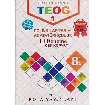 Rota Yayýnlarý 8.Sýnýf TEOG 1 T.C. Ýnkýlap Tarihi ve Atatürkçülük 10 Deneme (2017)