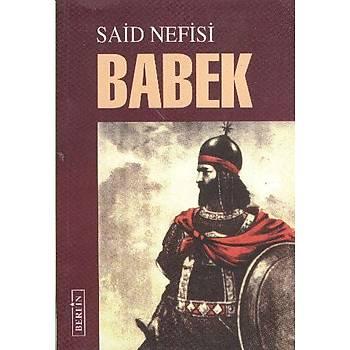 Babek - Said Nefisi - Berfin Yayýnlarý