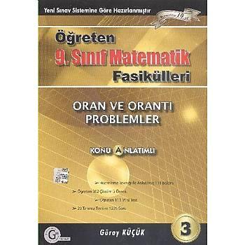 Gür Öðreten 9.Sýnýf Matematik Fasikülleri Oran ve Orantý Problemler Konu Anlatýmlý A