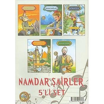 Namdar Þairler Seti 5 Kitap Ýz Býrakanlar Serisi - Maviçatý Yayýnlarý