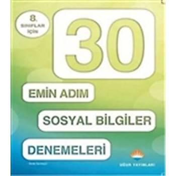 30 Emin Adým Sosyal Bilgiler Denemeleri - Seda Sarýkaye - Uður Yayýnlarý