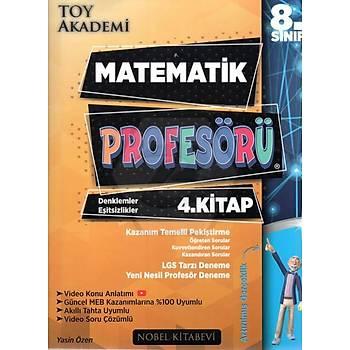 Toy Akademi 8.Sýnýf LGS Matematik Profesörü 4.Kitap