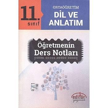 11. Sýnýf Dil ve Anlatým Öðretmenin Ders Notlarý
