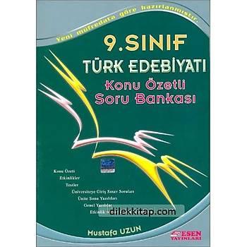 9. Sýnýf Türk Edebiyatý Konu Özetli Soru Bankasý