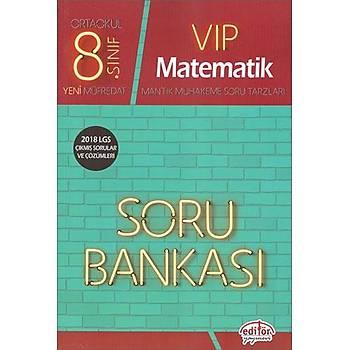 Editör 8.Sýnýf VIP Matematik Soru Bankasý (2020 Müfredat)