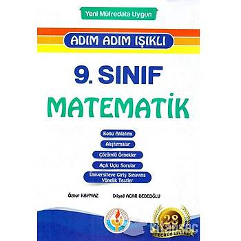 9. Sýnýf Matematik Adým Adým Fasikül Set Bilal Iþýklý Yayýnlarý