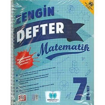 7. Sýnýf Zengin Defter Matematik Sözün Özü Yayýnlarý