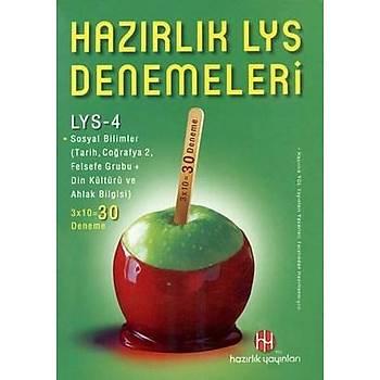 Hazýrlýk LYS - 4 Denemeleri (20 Deneme)
