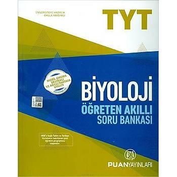 Puan TYT Biyoloji Öðreten Akýllý Soru Bankasý