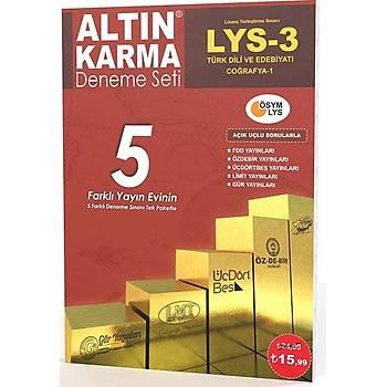 Altýn Karma LYS 3 Türk Dili ve Edebiyatý Coðrafya 1 5 Farklý Yayýn 5 Deneme
