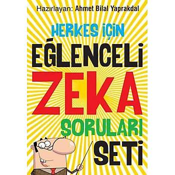 Herkes Ýçin Eðlenceli Zeka Sorularý Seti (6 Kitap Takým)
