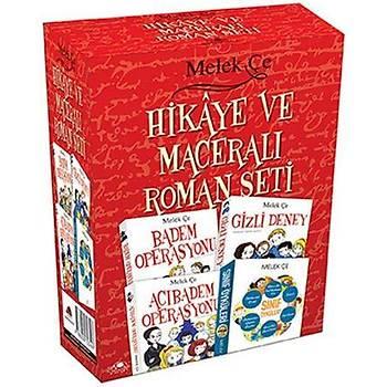Melek Çe Hikaye ve Maceralý Roman Seti 4 Kitap
