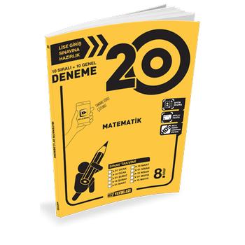8. Sýnýf Matematik 20 Deneme Çözümlü Hýz Yayýnlarý