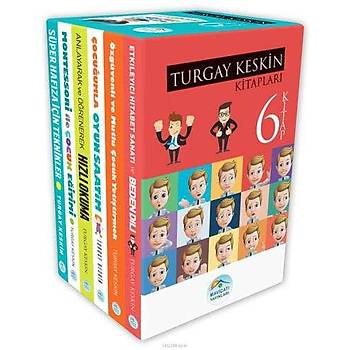 Turgay Keskin Geliþim Kitaplarý 6lý Set - Maviçatý Yayýnlarý