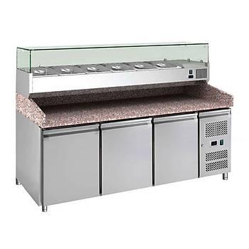 Arisco Pizza Hazýrlýk Dolabý 2025x800x850