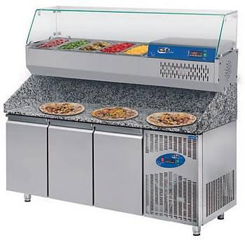 Pizza Buzdolabý (800'lük) Model: CS-PÝZ 200