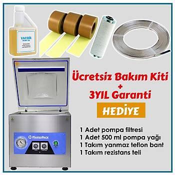 Emir 35 Cm Tek Çene Set Üstü Vakum Makinesi Gýda Vakum Makinasý