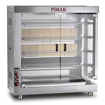 Pimak M005-K Kollu Setüstü Piliç Çevirme Makinesi 20'LÝ