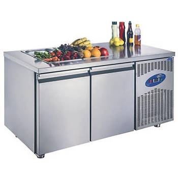Havuzsuz Salad Bar (700'lük) Model: CS-TEK4 700 - SH