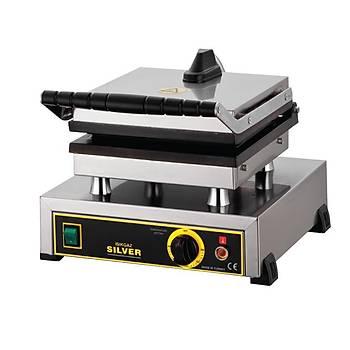 Iþýkgaz Silver Tekli Waffle Makinesi Kare