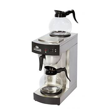Arisco Profesyonel Filtre Kahve Makinasý Çift Potlu