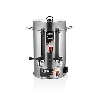 Emir Çay Makinesi Çay Otomatý 80 Bardak Metal Musluk