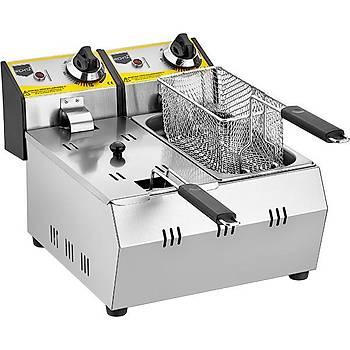 Remta 3+3 Litre Elektrikli Fritöz Makinesi