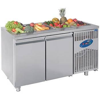 Havuzsuz Salad Bar (700'lük) Model: CS-TEK3 700 - SHS