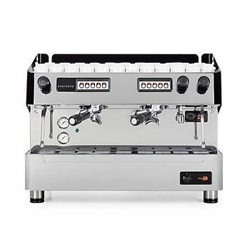 Arisco Otomatik  Çift Gruplu Espresso Cappucýno Kahve Makinasý