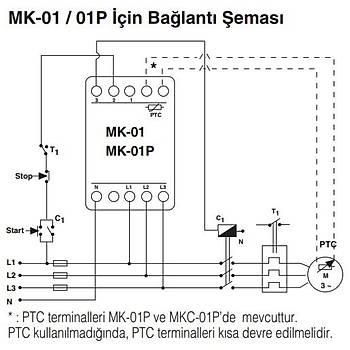 MK-01 Motor (Faz) Koruma Rölesi ENTES
